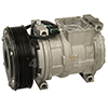 New Nippondenso 10PA17C Compressor w/ Clutch
