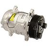 New York-Diesel Kiki-Zexel-Seltec TM16 Compressor w/ Clutch