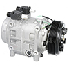 New York-Diesel Kiki-Zexel-Seltec TM31 Compressor w/ Clutch