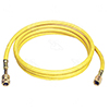 "72"" - Yellow Manifold Gauge R134a Service hose w/ Anti-Blow Back"