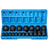 19-pc. 12-Point Standard Length Fractional Impact Socket Master Set