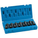 13-Piece Fractional and Metric Impact Hex Drive Set