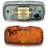 Die-Cast, Two-Bulb, Square-Corner, Clearance/Marker Lamp