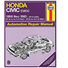 Honda Civic 1300 and 1500 CVCC Repair Manual