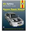 Kia Optima Repair Manual