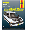 Mazda MPV Repair Manual