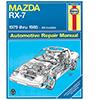 Mazda RX-7 Rotary Repair Manual