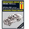 Mercedes-Benz Diesel 123 Series Repair Manual