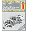 Mercedes-Benz 350 and 450 Repair Manual