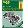 MGB Roadster, GT Coupe Repair Manual