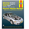 Mitsubishi Eclipse, Plymouth Laser and Eagle Talon Repair Manual