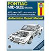 Pontiac Mid-Size Repair Manual