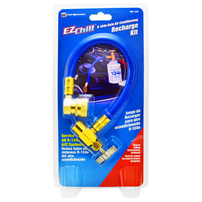 Ez Charge The All Access Vehicle Charging Card >> AutoParts2020 :: Interdynamics EZ Chill R-134a Recharge Kit
