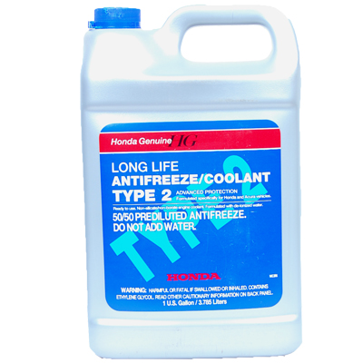 how to prepare antifreeze or coolant