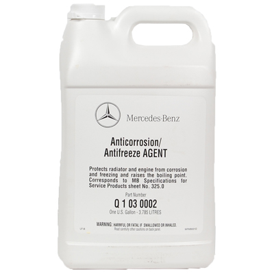 Autoparts2020 mercedes benz antifreeze coolant concentrate for Mercedes benz coolant