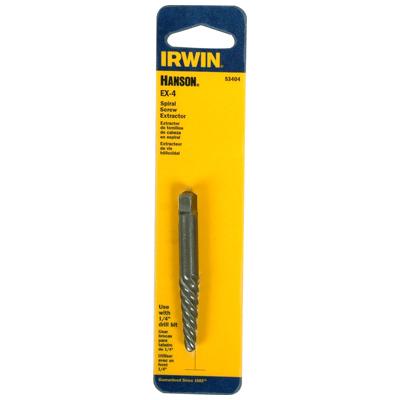 Autoparts2020 hanson by irwin power spiral screw extractor for Irwin motors body shop