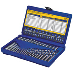 35-pc. Screw Extractor and Drill Bit Set