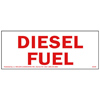 Diesel Fuel Safety Sign