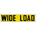 Vinyl Reversable Wideload/Oversize Load Banner