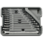 12 pc. XL GearBox Ratcheting Wrench Set - Metric