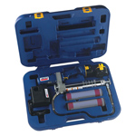 PowerLuber Cordless Rechargeable Grease Gun w / 2 batteries