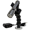 Rechargeable LED Flashlight with Flexible Magnetic Holder
