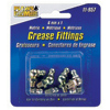 Small Metric Grease Fitting Assortments