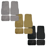Carpet Floor Mat 4 pc. Set