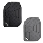 Diamond Plate SUV/Truck Front Mat 2 pc. Set