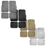 Rubber Floor Mat 4 pc. Set
