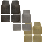 Vinyl Floor Mat 4 pc. Set