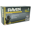 RAVEN Black Nitrile Gloves