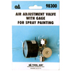Air Adjustment Valve With Gauge for Paint Spraying