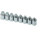Male Pipe Plug Socket Set, 8 Piece