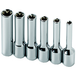 Deep Female (External) Torx� Socket Set, 6 Piece