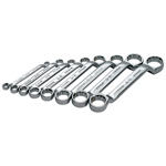 8 Piece 6 Point SuperKrome� Short Deep Metric Offset Box End Wrench Set