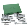 47 Piece Drive 6 Point Fractional/Metric Socket Set
