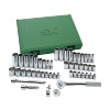 49-Piece 6 Point Fractional/Metric Socket Set