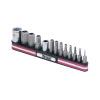 13-pc. Tamper Resistant Hex Bit Socket Set