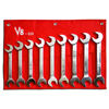 9-Piece Jumbo Angle Head Wrench Set