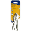 Curved Jaw Locking Pliers with Wire Cutter