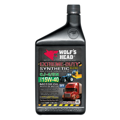 Autoparts2020 Wolf 39 S Head Extreme Duty Synthetic Blend Motor Oil