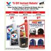 Valvoline Oil Change - $5 Instant Rebate