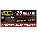 AIRAID Air Intake Systems Rebate