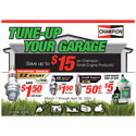 "Champion Small Engine ""Tune Up Your Garage"" Rebate"