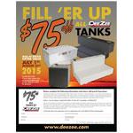DeeZee Tank Rebate