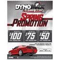 DynoMax Performance Exhaust Spring Rebate