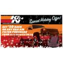 K&N Air Filter Rebate