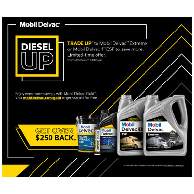 Mobil Delvac 2021 Spring Rebate Offer
