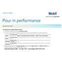 Mobil Motor Oil Rebate